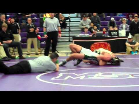 Chris Almony (John Carroll) vs Reid Chaconas (Glenelg Country School) 170lb MIAA FInal