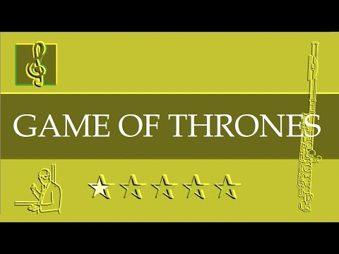 Flute Notes Tutorial - Game Of Thrones - Theme (Sheet Music)