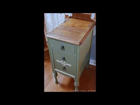 Nightstand Chalk Paint