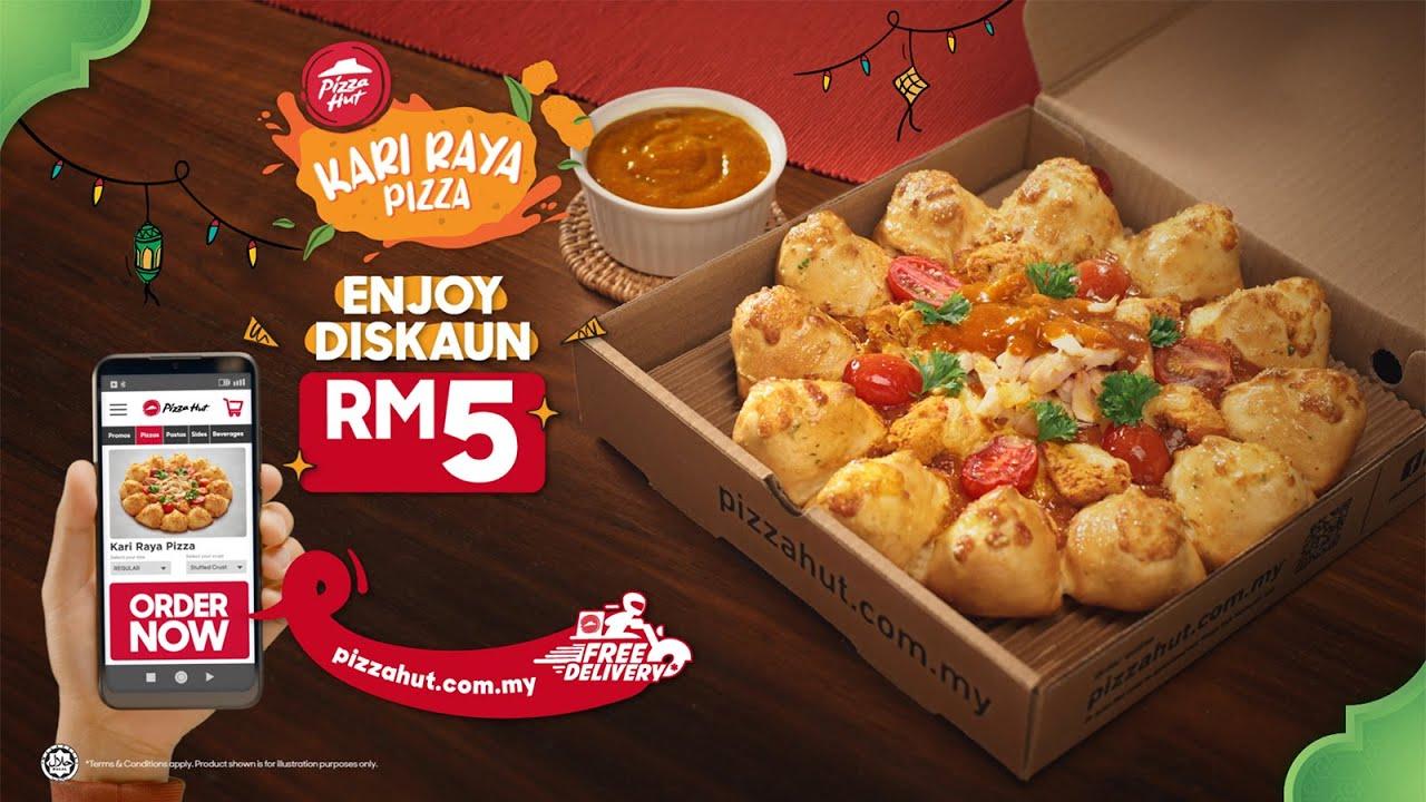 Kari Raya Pizza, Sedap Tak Terkata!