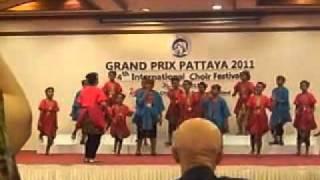 Video Kairos in International Choir Competition Pattaya 2011 download MP3, 3GP, MP4, WEBM, AVI, FLV April 2018