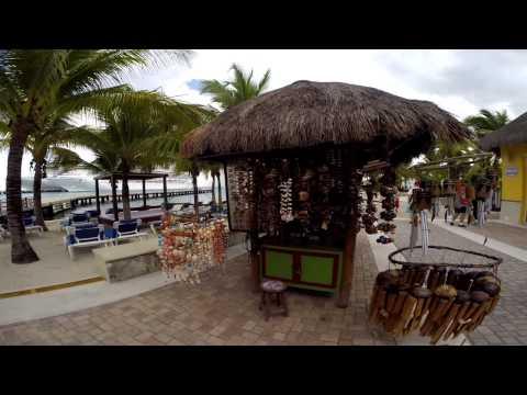 17/29 Cozumel  Ilha no México Caribbean Princess - VLOG