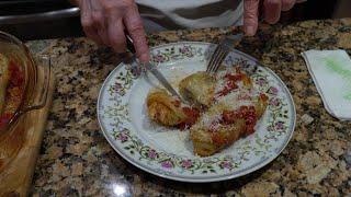 Italian Grandma Makes Stuffed Cabbage
