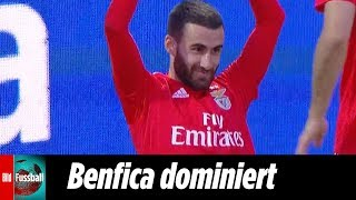 Rafa Silva mit tollem Tor bei 4 Tore-Festival | Moreirense - Benfica Lissabon 0:4 | Highlights | NOS