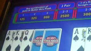 Wheel Poker -- more winning (part 2) -- Green Valley Ranch -- September 2010