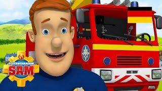 Feuerwehrmann Sam Deutsch Neue Folgen   Der Dreibeinlauf - Rettungsfahrzeuge Sammlung! 🚒 Kinderfilme