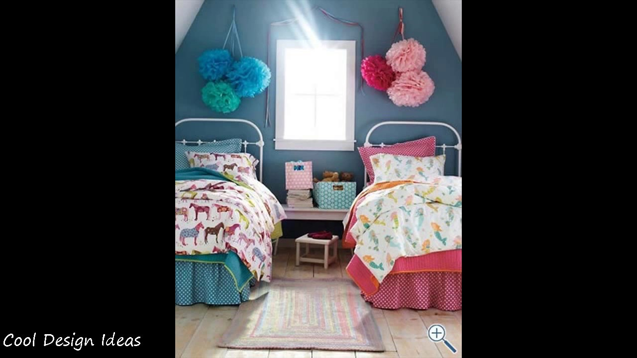 diy boy and girl shared room decorating ideas youtube