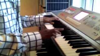 Venmegham Pennagha - Yaradi Nee Mohini - Keyboard Instrumental Version