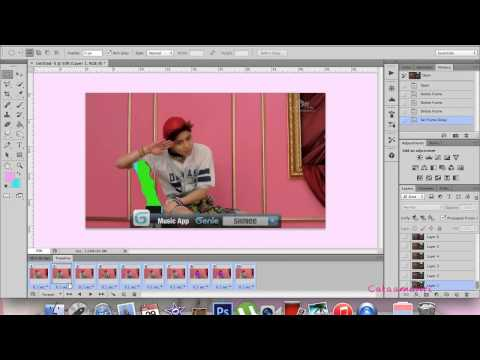 How to make an animated gif in photoshop cs6 mac