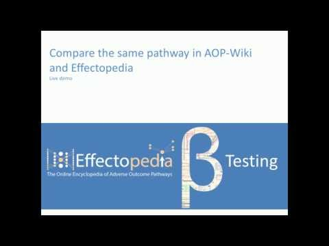 Live Demo 03 Compare the same AOP in AOP-Wiki and Effectopedia