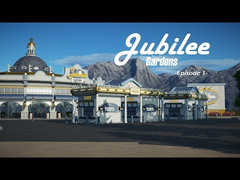 Planet Coaster - Jubilee Gardens Episode 1 / Introduction and Entrance Building