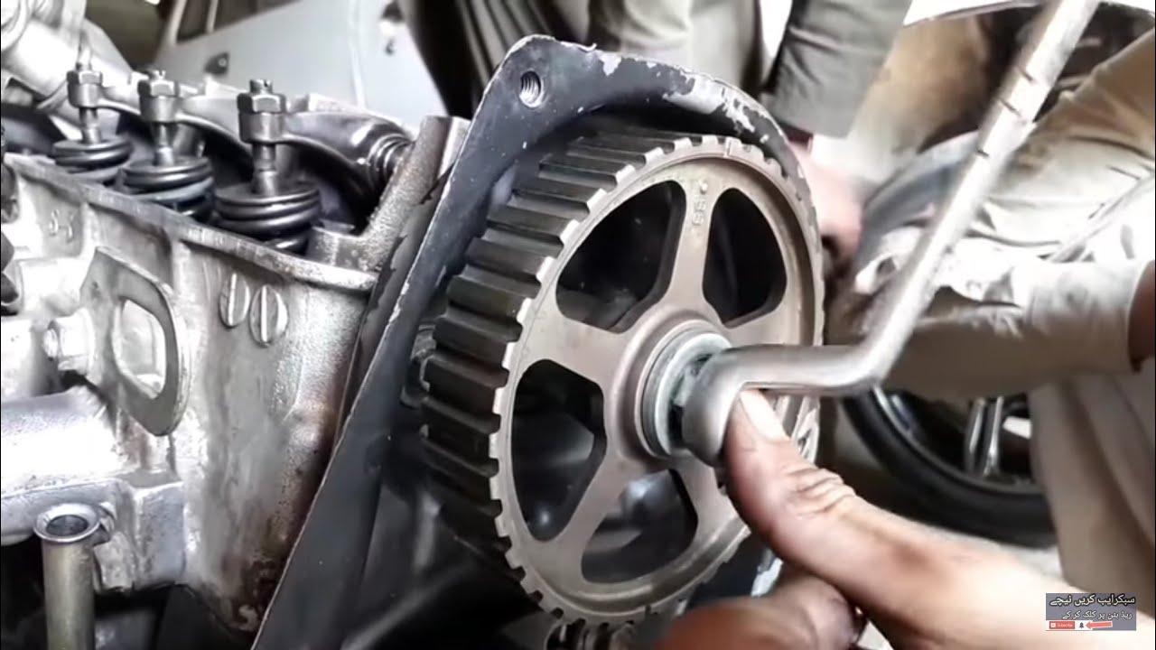 How to timing settings f8 engine Suzuki mehran car suzuki