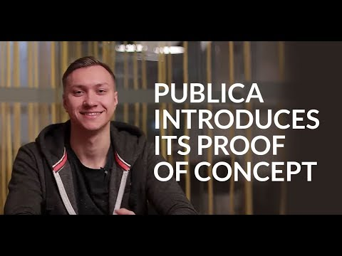 Publica Introduces Its Proof Of Concept