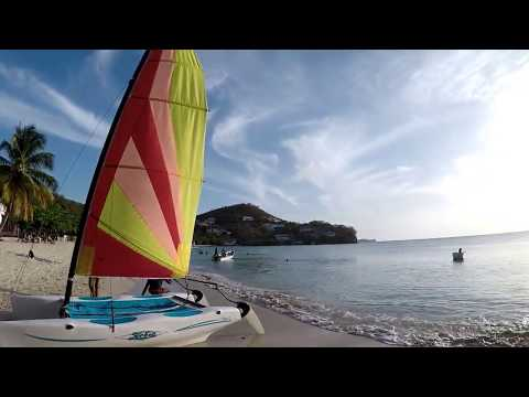 BEACH FISHING With LURES - SURF Fishing In Grenada, Caribbean