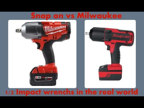 Snap On Ct8850 Vs Milwaukee 2763 22 Electric Impacts After 3 Years