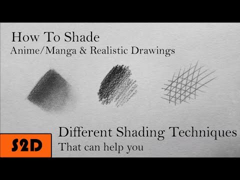 How To Shade Both In Anime/Manga & Realistic Drawings