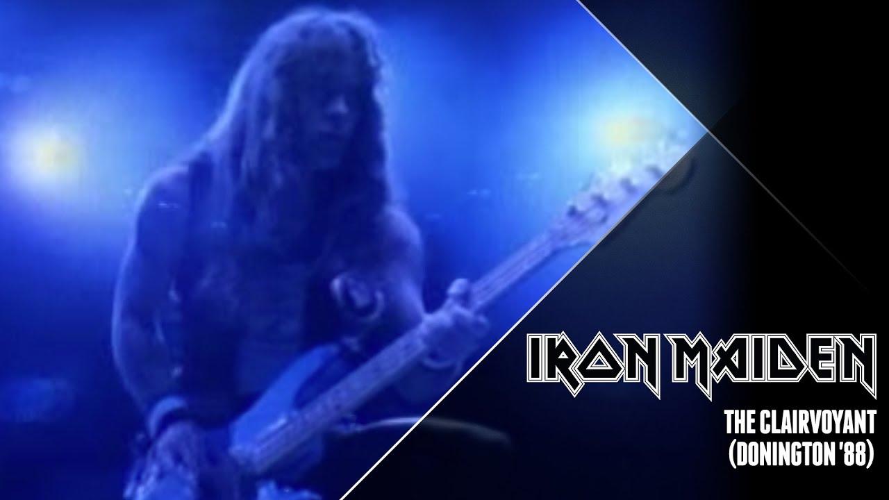 Iron Maiden - The Clairvoyant  Donington '88