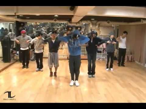 Rain - Hip Song mirrored Dance Practice