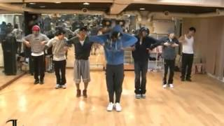 Rain - Hip Song mirrored Dance Practice