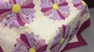 Eliana Maria – Manta Dresden de patchwork