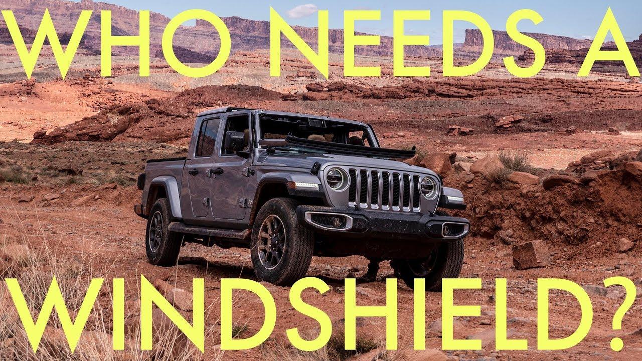 2020 Jeep Gladiator Windshield