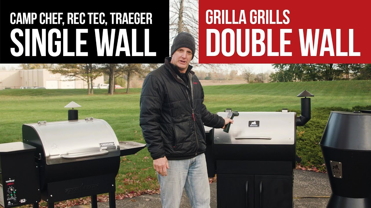 Camp Chef vs Grilla Grills | Double Wall Insulation Test in Cold Weather