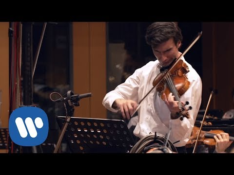 David Aaron Carpenter records Alexey Shor: Lullaby for Mark (viola)