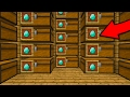HUGE CHEST ROOM in Minecraft Pocket Edition (Realms SMP #3)