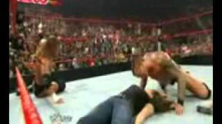 Randy Orton Kisses Stephanie.flv