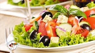 Греческий салат. Классический пошаговый рецепт.