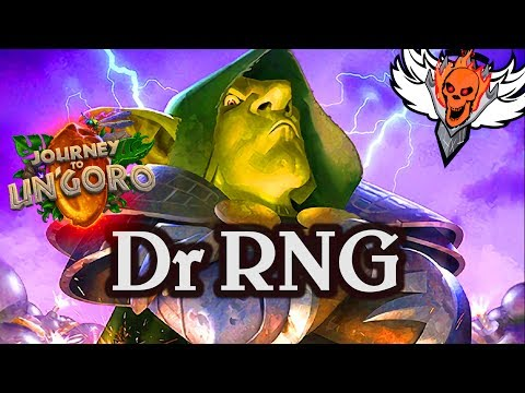 Dr RNG 🍀🎲 ~ Journey to Un'Goro ~ Hearthstone Heroes of Warcraft