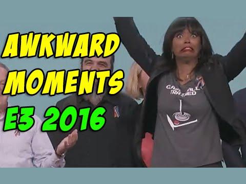 E3 2016 Funny and awkward moments
