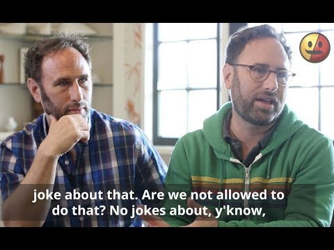 The Sklar Brothers on Comedians Crossing The Line