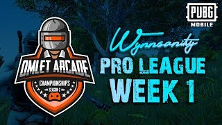PUBG Mobile Season 2 Wynnsanity Pro League - Week 1 ($40,000 in Prizes!)