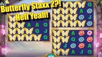 Butterfly Staxx 2?! - Hell Yeah! - Online Slots - Casumo - The Reel Story