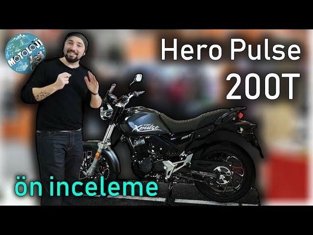 Hero Pulse 200T ön inceleme | 2019 Motosiklet Fuarı