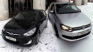 Hyundai Solaris или VW Polo Sedan?
