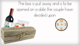 Wine Box And Love Letter Ceremony