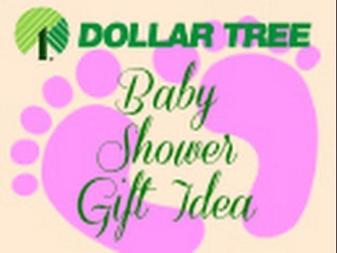 Inexpensive Dollar Tree Baby Shower Gift Youtube