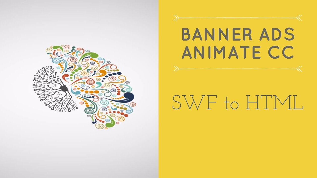 SWF to HTML - HTML5 Banner Ads in Adobe Animate [4/53]