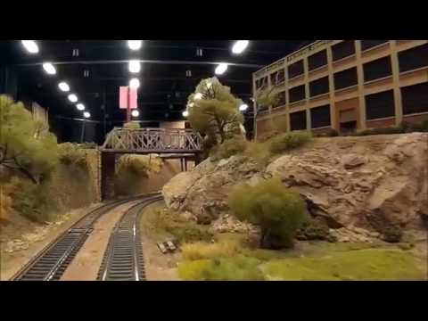 Gulf and Western layout at the Temple Train Show 2016