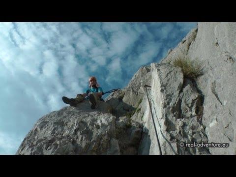 Klettersteig Rating : Klettersteig che guevara gardasee #1: kletterei beim zustieg