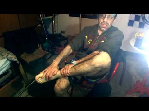 My barefoot work-out /esercizi preparatori alla corsa 'minimale'(scalza)