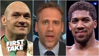 Max Kellerman is hopeful Tyson Fury vs. Anthony Joshua will happen soon | First Take