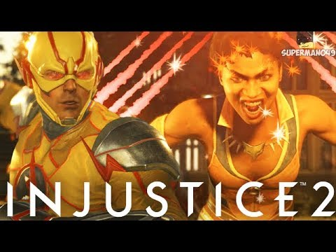 VIXEN'S SUPER BEATS THE SPEED FORCE! - Injustice 2