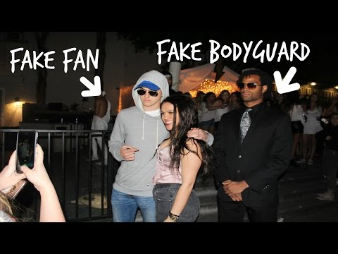 Fake Celebrity Sneaking into Frat Party