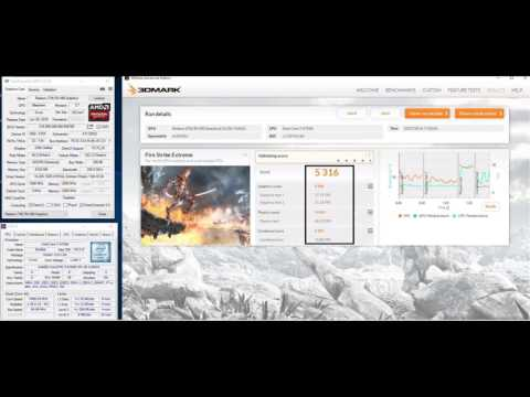 RX 480 Firestrike benchmark