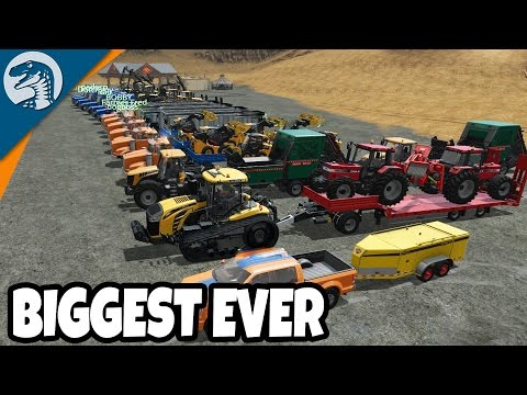 HEAVY EQUIPMENT LOAD UP & HUGE CONVOY | Logging Map | Farming Simulator 17 Multiplayer Gameplay