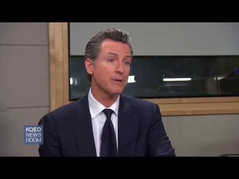 Lt. Gov. Gavin Newsom Interview