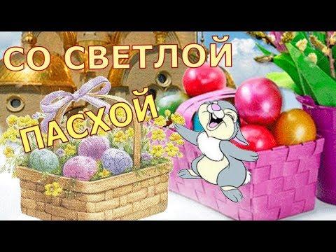 Прикольное поздравление с ПАСХОЙ!!!. - Смотреть видео без ограничений